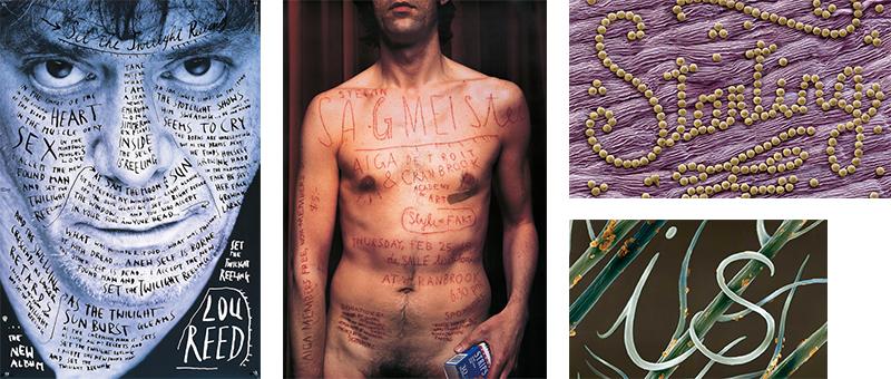Création du designer graphique Stefan Sagmeister