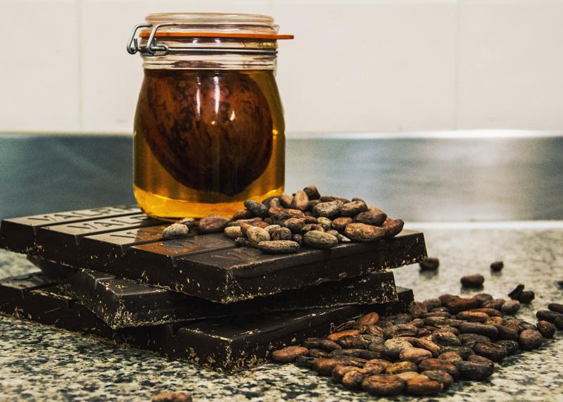 La Haute Société voeux 2017 chocolat