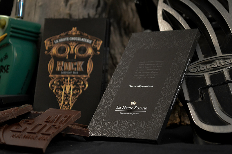 La Haute Société chocolat rock