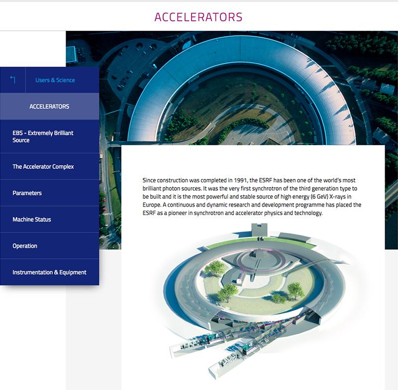 esrf synchrotron accelerators