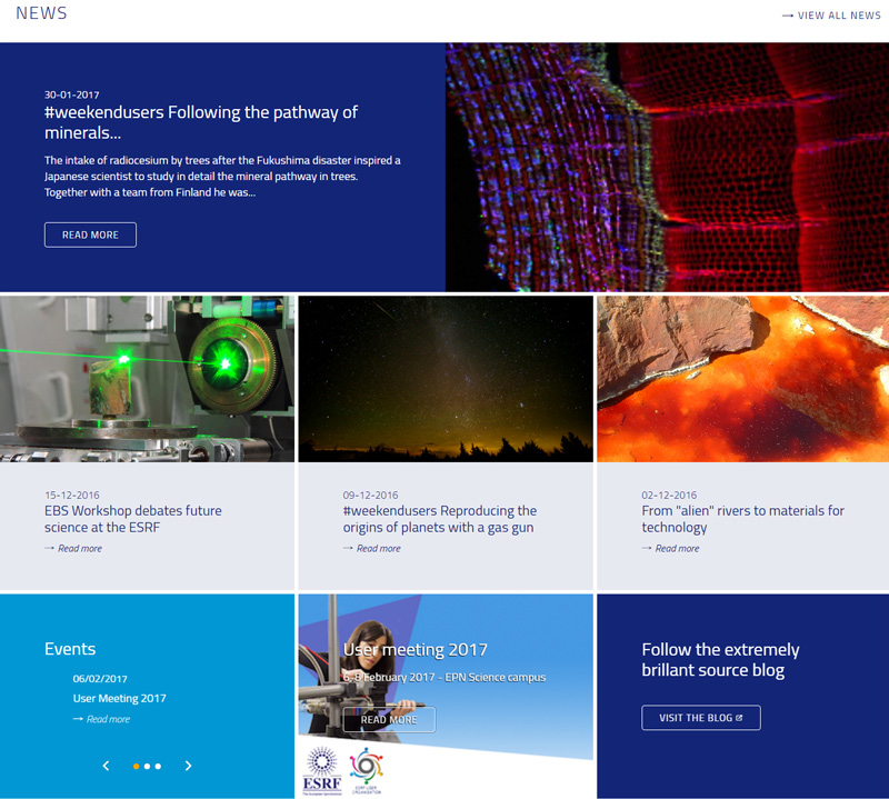 esrf synchrotron sciences