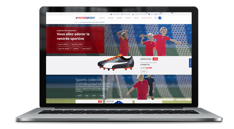 intersport operation commerciale rentree sports