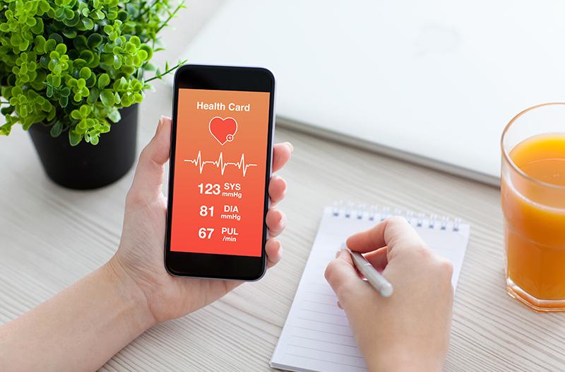 application medicale santé connectée
