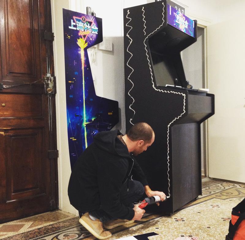 borne arcade custom