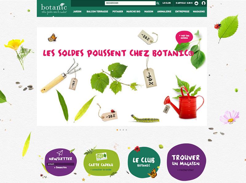 site botanic homepage