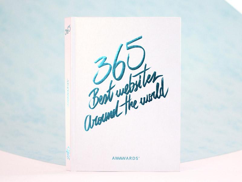 365 Best Websites Around The World 2015 - Awwwards book