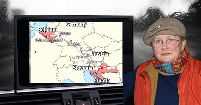 mamie GPS bruxelles zagreb