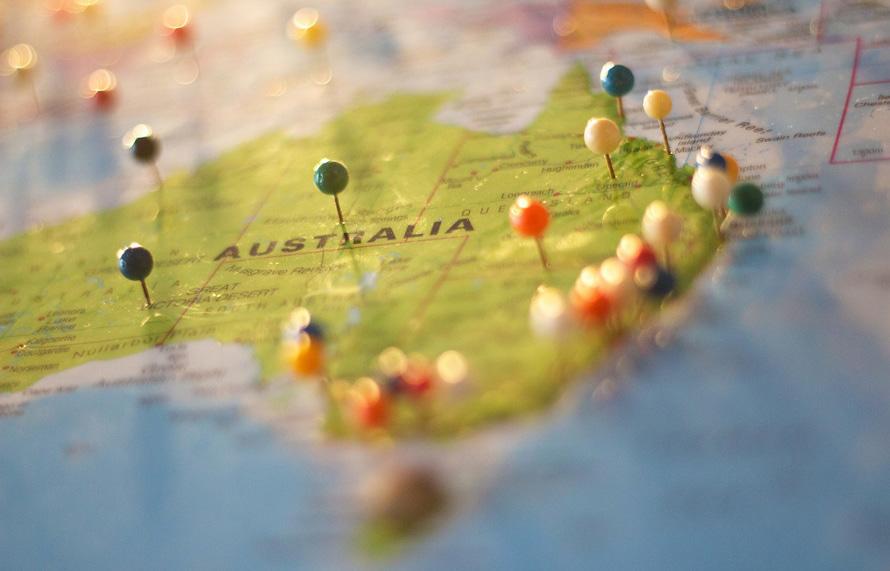 geolocation australia