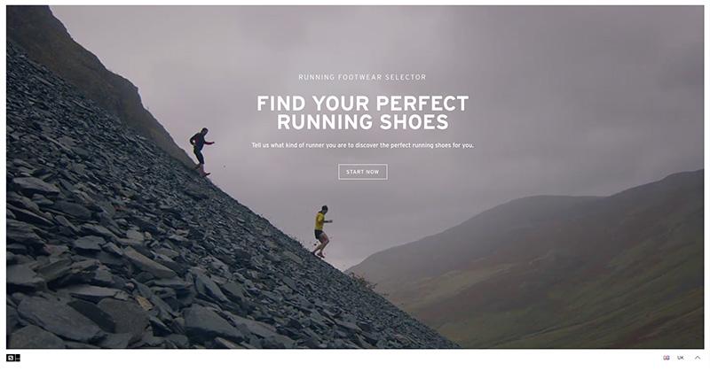 salomon shoe finder
