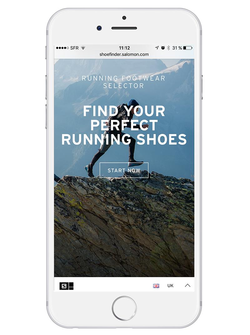 salomon shoe finder responsive
