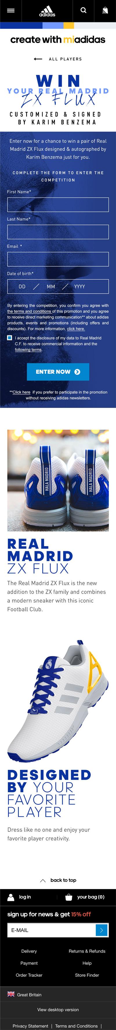 la haute societe adidas webmarketing