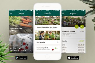 application mobile botanic