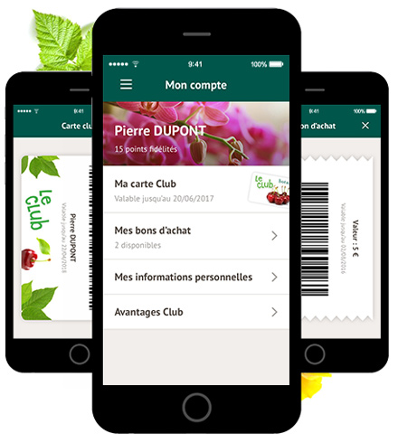 application botanic la haute societe