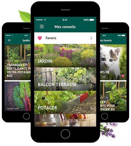 la haute societe application mobile botanic