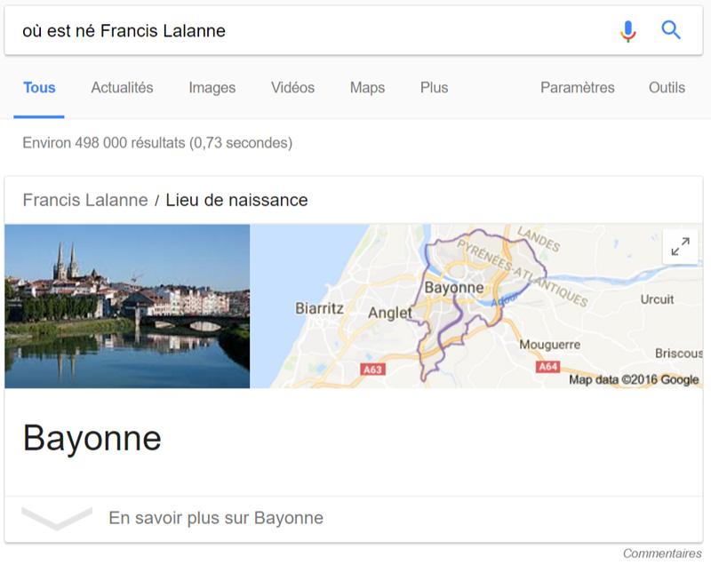 Francis Lalanne Bayonne