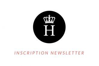 inscription newsletter la haute société