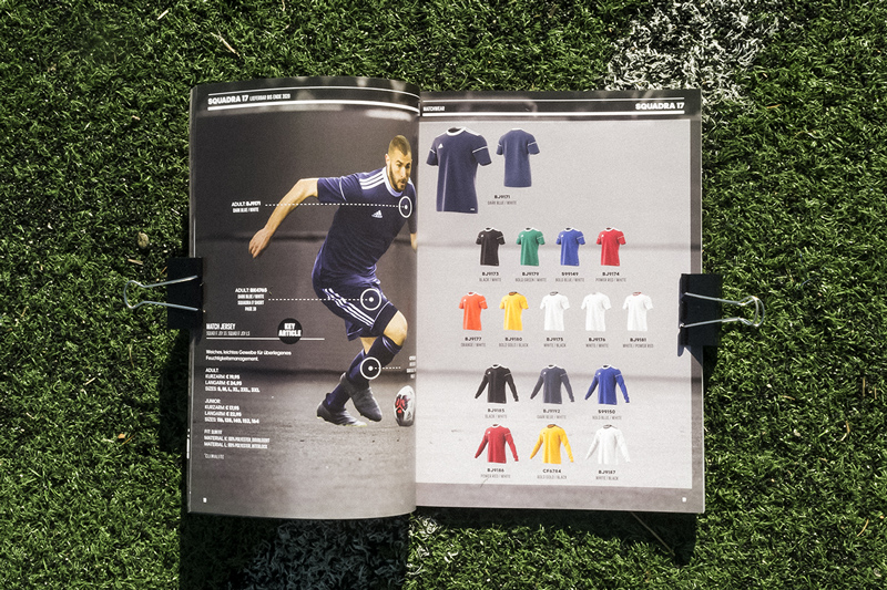 adidas football 2018 catalogue papier