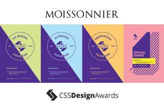 css design awards moissonnier