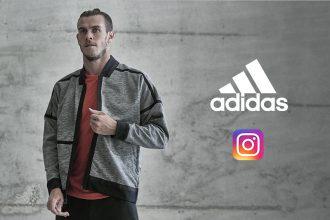 marketing influence adidas instagram gareth bale