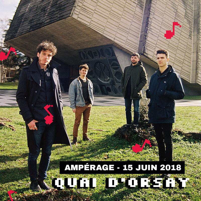 quai dorsay band music grenoble