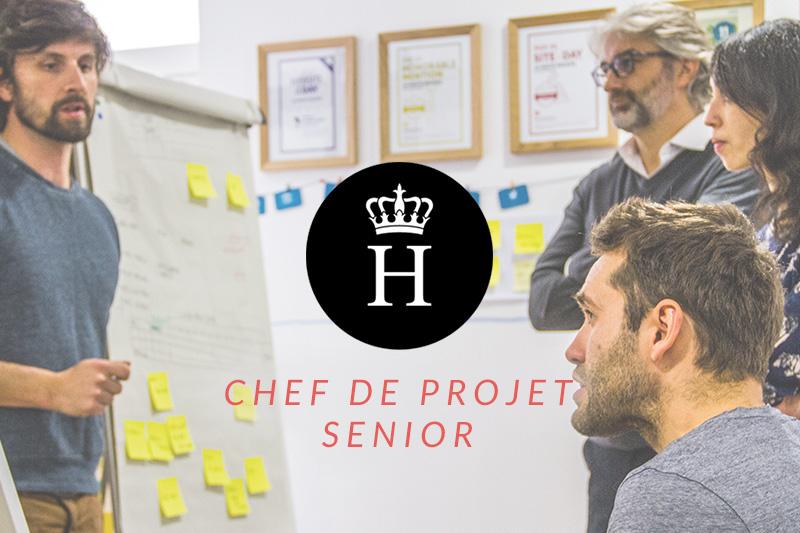 emploi chef projet digital senior