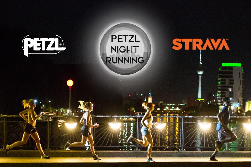 petzl strava night running challenge