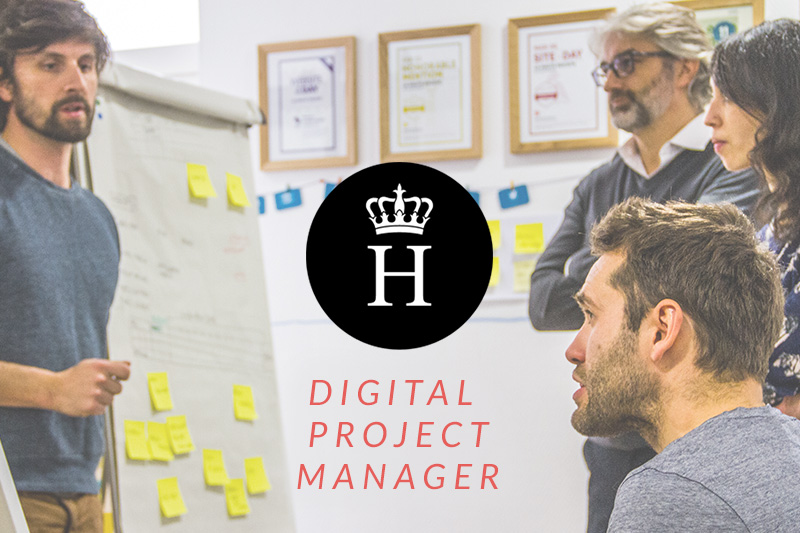 digital project manager agence