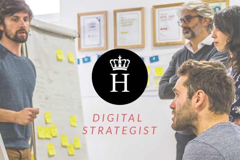 digital strategist agence recrutement
