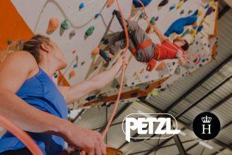 petzl operator climbing gym