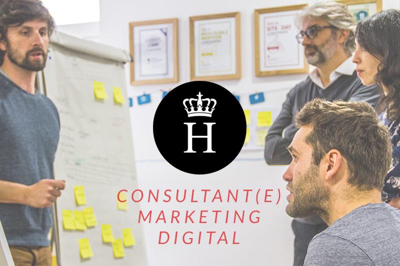 recrutement offre emploi consultant marketing digital