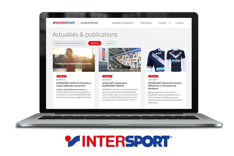 intersport espace presse