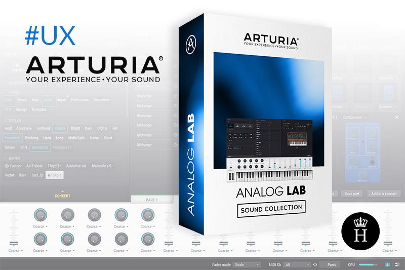 arturia analog lab 4 UX la haute societe