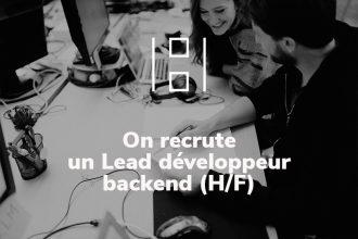recrutement lead developpeur backend